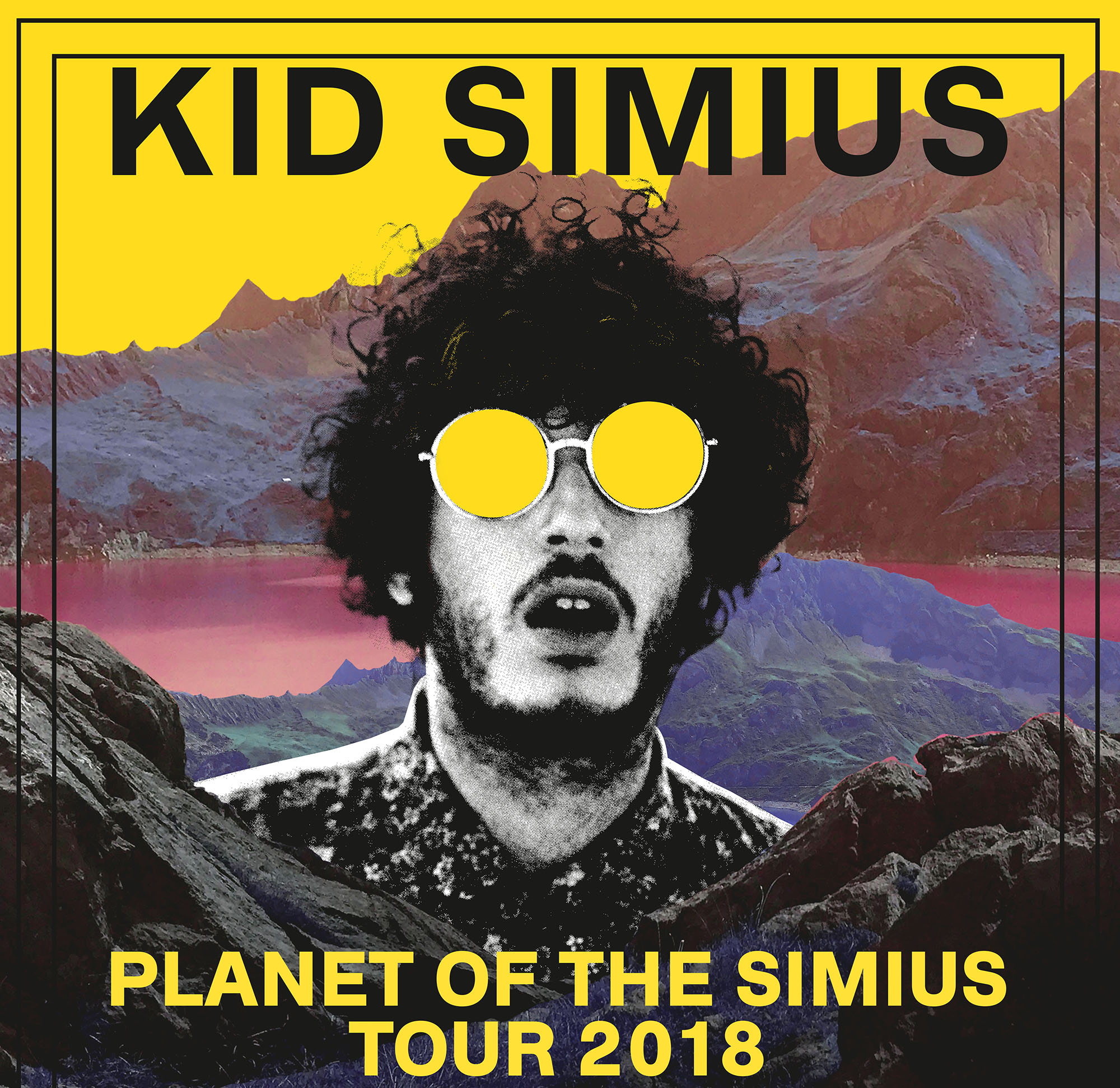 KID SIMIUS PLANET OF THE SIMIUS TOUR 2018